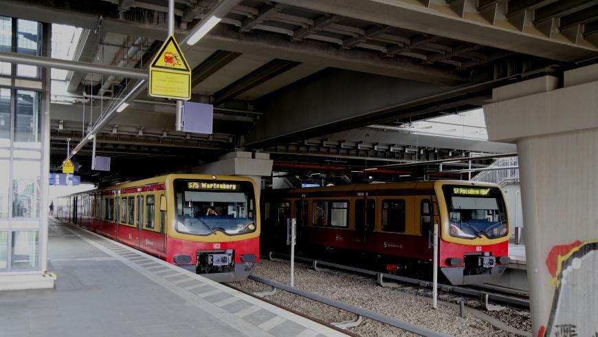 S-Bhf. Ostkreuz Bahnsteig unten