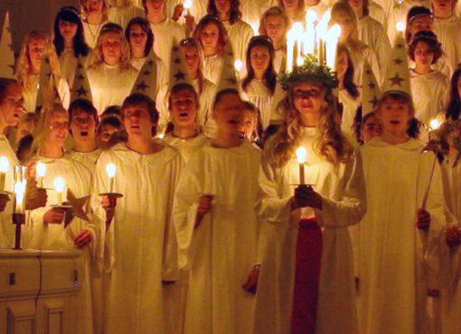 Chorkonzert zum schwedischen Lichterfest