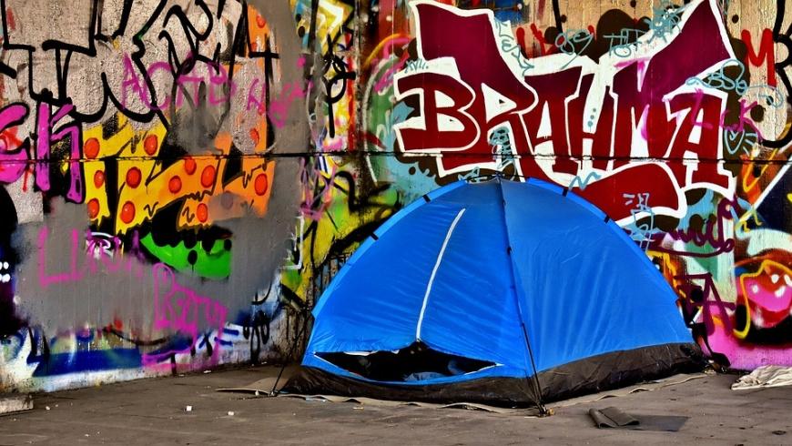 Obdachlosencamp