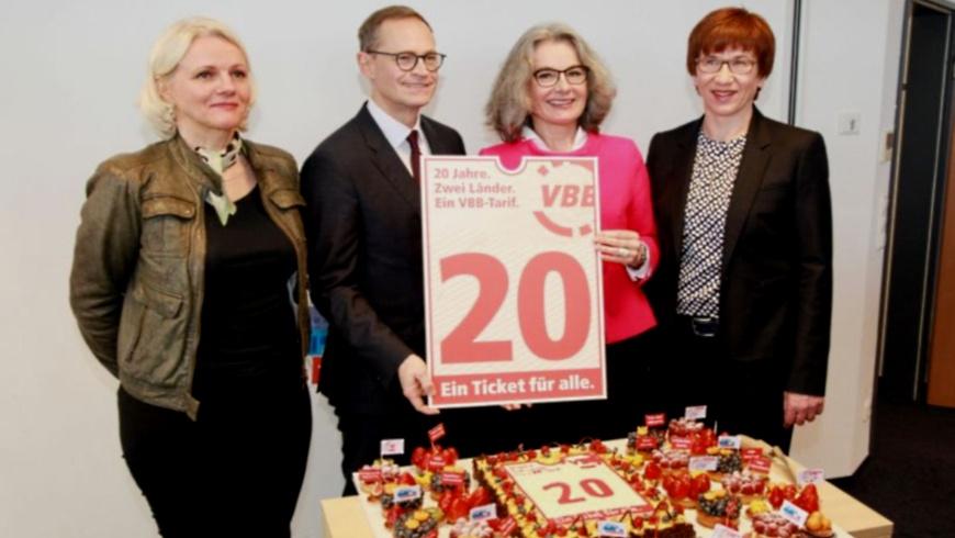20 Jahre Verkehrsverbund VBB