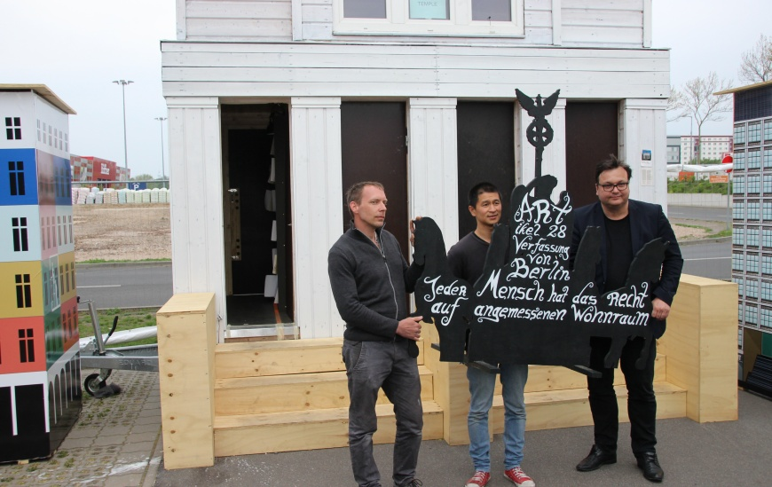 Besuch im Tiny House Ville