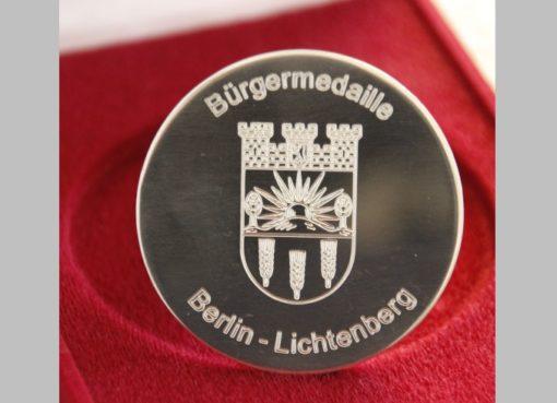 Bürgermedaille Lichtenberg