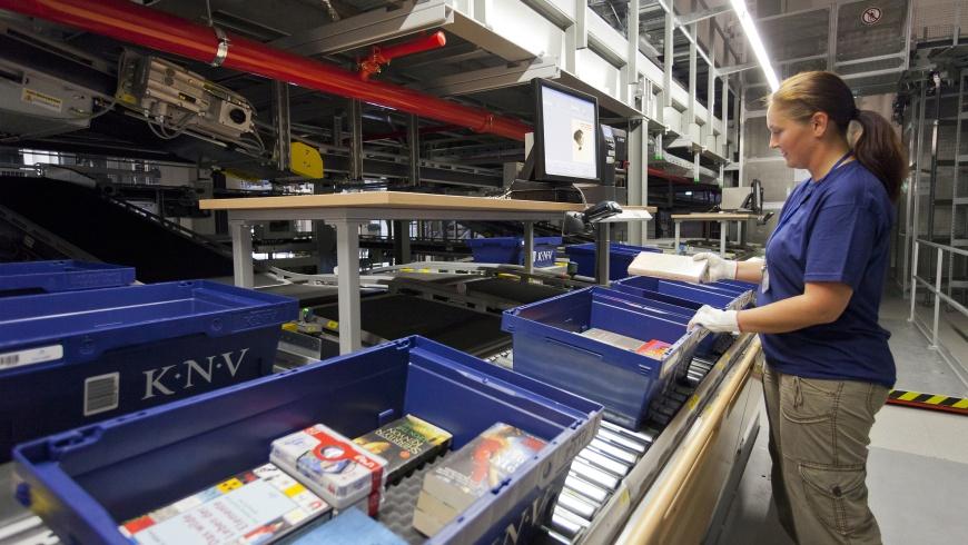 KNV Packzentrum in Erfurt