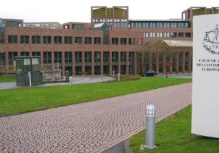 Sitz des Europäischen Gerichtshofes