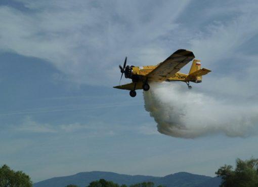 Privates Löschflugzeug