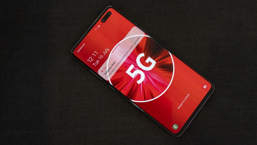 Vodaphone startet das 5G-Netz