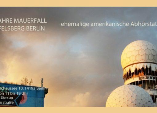 Kunst-Ausstellung Teufelsberg