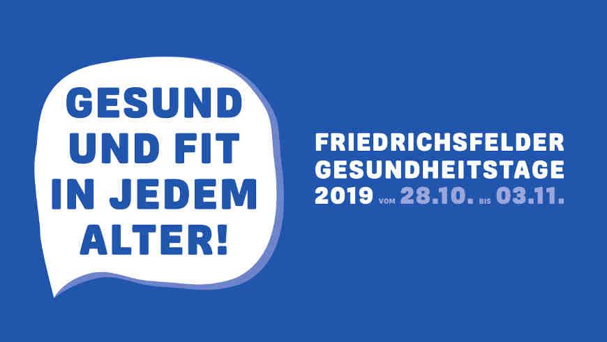 Friedrichsfelder Gesundheitstage 2019