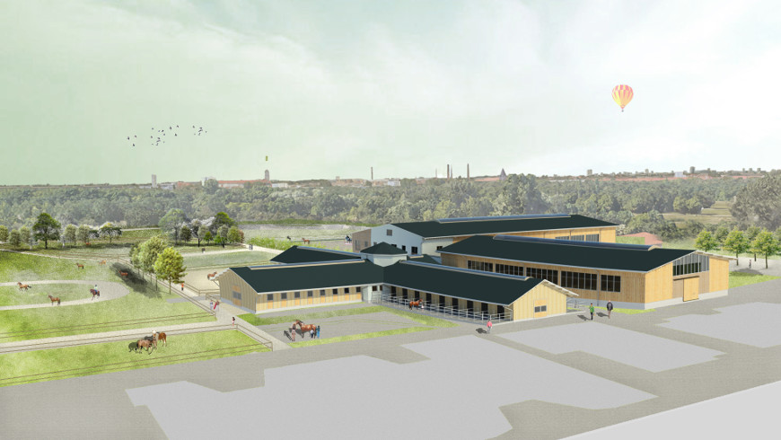 Visualisierung Inklusives Pferdesport- und Reittherapiezentrum Berlin-Karlshorst