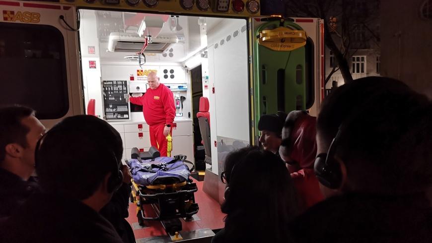 Rettungswagen des ASB