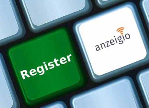 anzeigio – Berliner IoT-Register