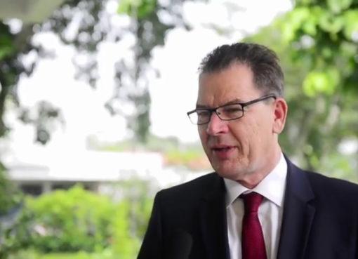 Minister Dr. Gerd Müller (CSU)