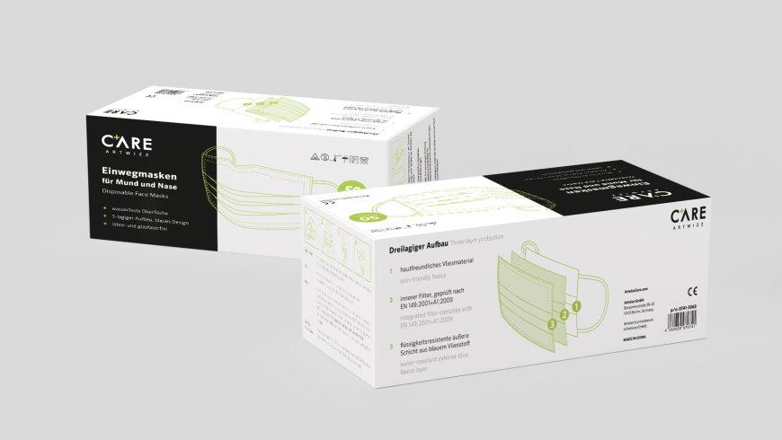 ArtwizzCare liefert auch Großpackungen für medizinische Einrichtungen - Foto: Artwizz GmbH