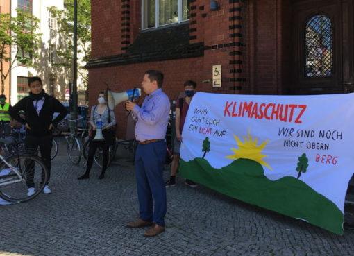 Demonstration für Klimaschutz