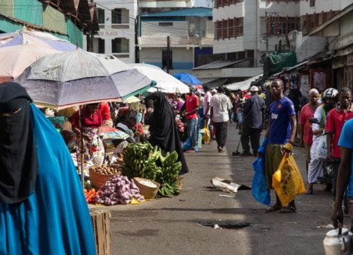 Markt in Mombasa