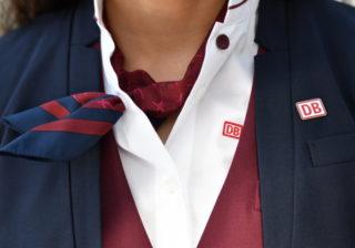 Neue Kleidung für Bahnpersonal