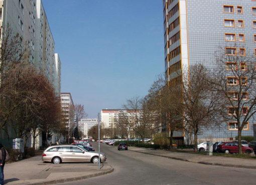 Hochhäuser in -Neu-Hohenschönhausen