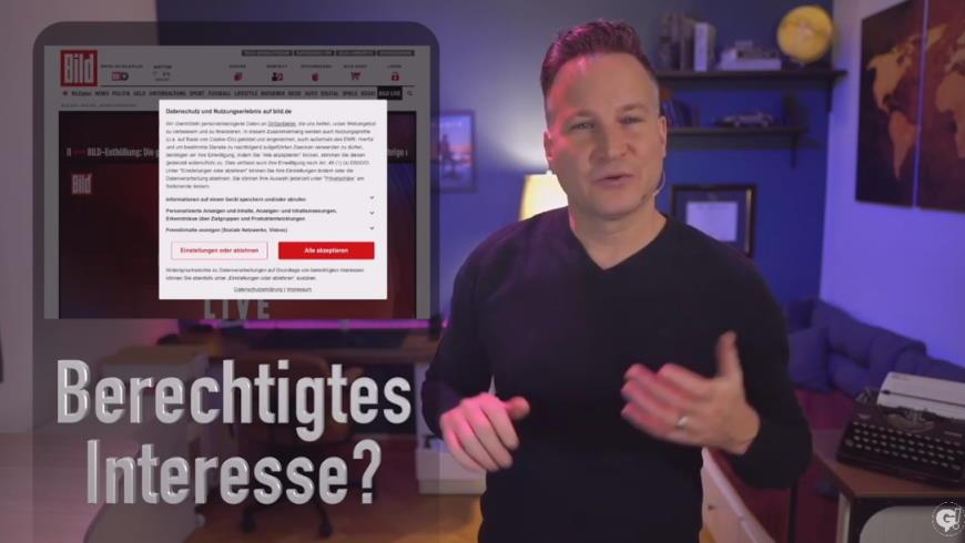"""Richard Gutjahr zum Thema """"Cookie-Wahnsinn"""""""
