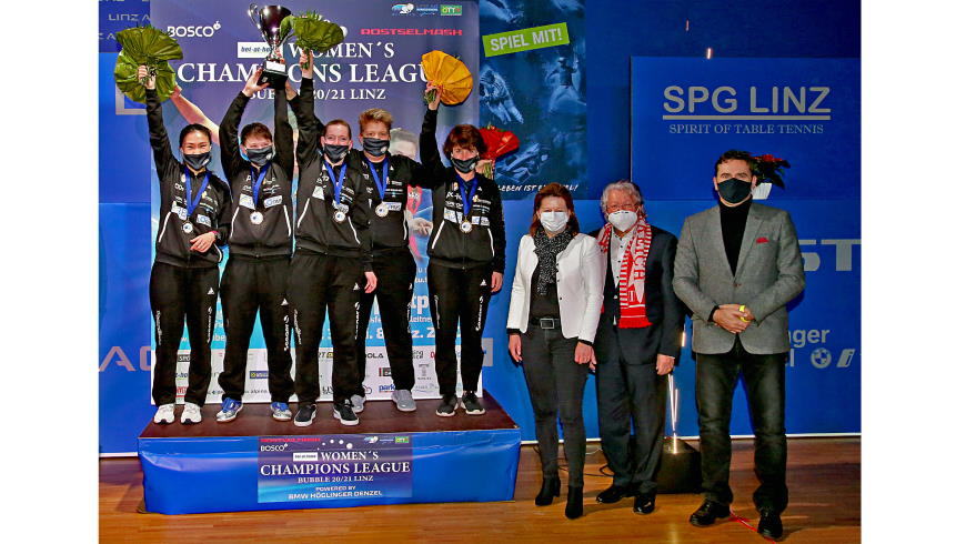 Tischtennis Champions League 2020/21