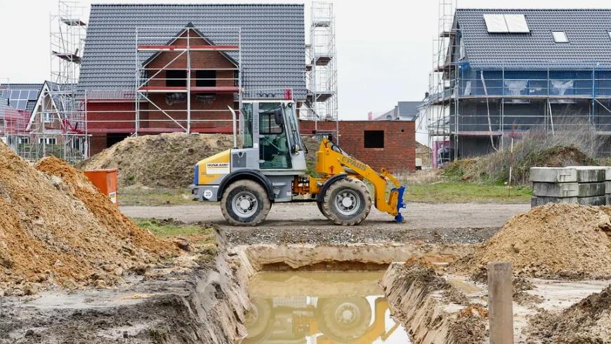 Anstehendes Grundwasser in einer Baustelle - Foto: Pixabay