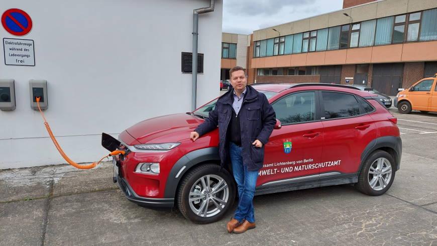 Elektroauto für das Umwelt- und Naturschutzamt