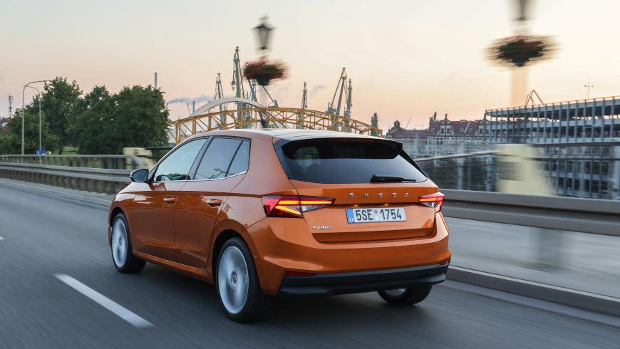 Neuer Škoda Fabia