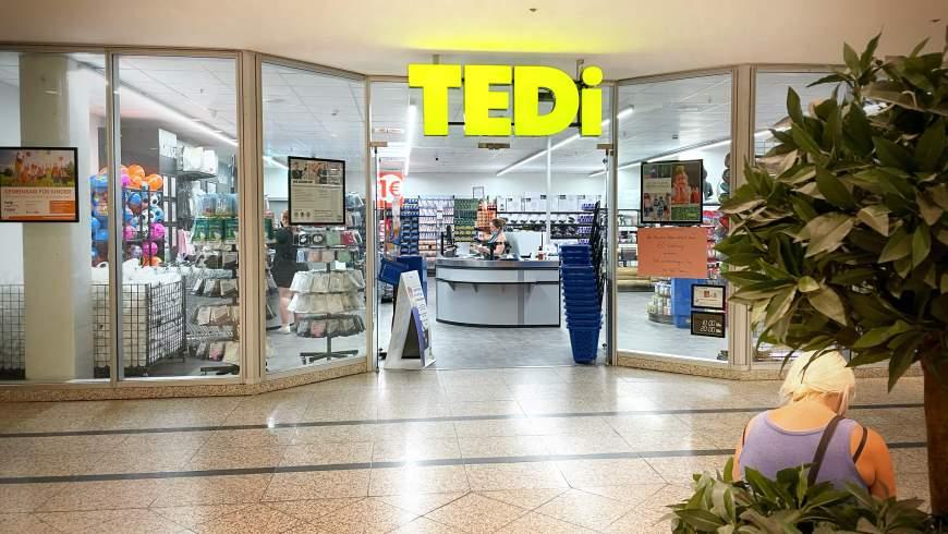 """""""TEDi"""" im ´FORUM Köpenick´"""