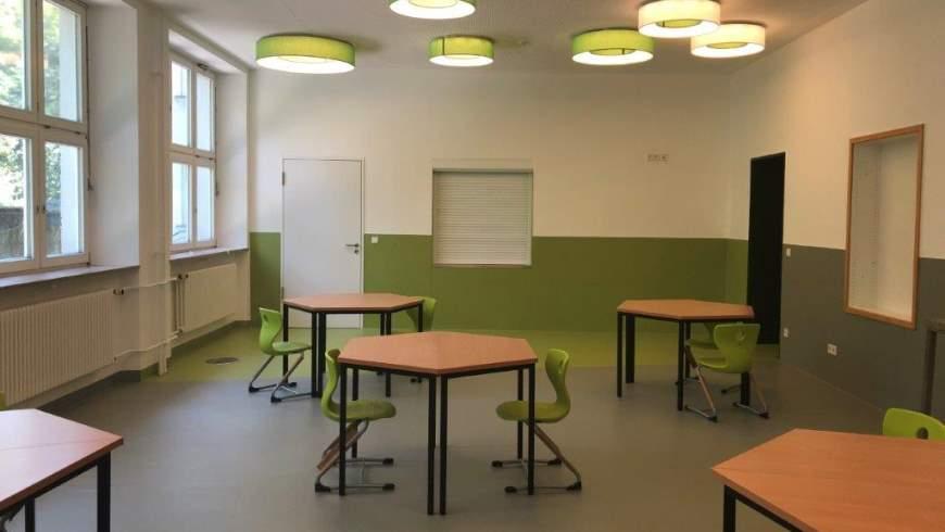 Mensa im Grünen Campus Malchow